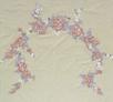 embroidery, radzio, katarzyna, katarzyna radzio, secesja, haft, haft artystyczny, haft komputerowy, haft maszynowy, prezent, dekoracja, decoration, ornament, fantazyjne, jednostkowe, unikalne, unic, indywidualne, indyvidual, wyjątkowe, autorskie, secesja, secession, art, kapa, cover, łóżko, bed, prowansja, kwiaty, flower, listki, leaves