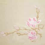 radzio, katarzyna, katarzyna radzio, haft, haft artystyczny, haft komputerowy, haft maszynowy, prezent, serwetki, dekoracja, ornament, fantazyjne, jednostkowe, unikalne, indywidualne, wyjątkowe, autorskie, wiosna, magnolia, drzewo, krzew, kwiat, kwitnąć,